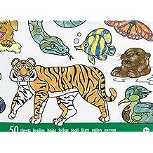 Melissa & Doug - Bloc gigante de animales para colorear (14200)