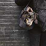 Me and My Pets Black Quilted Carrier 8