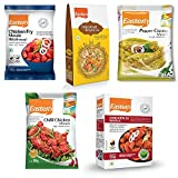 Eastern Chicken 65(50 g), Kabab Masala(100 g), Chilly Chicken Masala(100 g), Pepper Chicken Masala(100 g), Hyderabad Biryani(60 g) (Pack of 5)