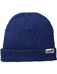 Neff Fold Heather Mütze blau marineblau