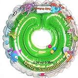 Baby Schwimmer Tüv GS Halsschwimmring Gr. 6-36 kg (0-36 Monate) Schwimmhilfe für Baby Schwimmring Badehilfe Schwimmtrainer in Grün