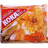 Koka estilo oriental Fideos Instantáneos Curry Sabor 6 x 85gm