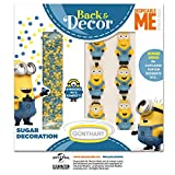 günth Art backdecor Minions – Set | GRU – Mi Villano Favorito, Minions Decoración de azúcar | 6 Minions Figuras | dispersa Dekor Minions