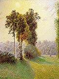 Das Museum Outlet–Sonnenuntergang Versenden Charles, Eragny. 1891–Poster Print Online kaufen (101,6x 127cm)
