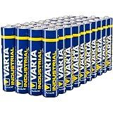Varta Batterien Micro AAA LR03 (Made in Germany, für energieintensive Geräte z.B. elektronisches Spielzeug, Vorratspack 40 Stück)