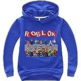 Roblox Sudaderas Ropa Infantil clásica for niños Sudadera con Capucha Jumper de Manga Larga Casual Tops Largos Roblox Chaquet