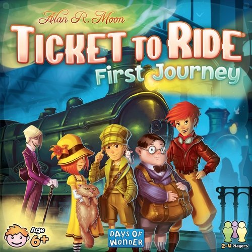 Preisvergleich Produktbild Ticket to Ride First Journey by Ticket to Ride First Journey