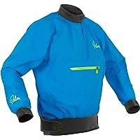 Palm Kayak or Kayaking - Vector Kayak Coat Jacket Coat Blue - Lightweight. Waterproof & Breathable