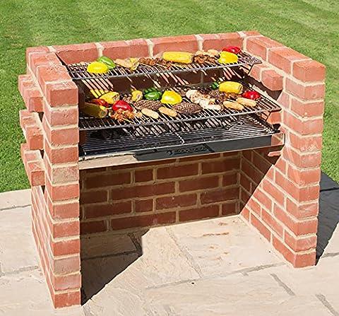 Black Knight Barbecues BKB 30390x 90x 39cm Grand Kit barbecue–en acier inoxydable