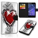 sw-mobile-shop Book Style Wiko Sunny 2 Plus Tasche Flip Brieftasche Handy Hülle Kartenfächer für Wiko Sunny 2 Plus - Design Flip SVH1188