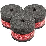 TnR Products TRBS Booty Shaker - Pies de espuma para patas de tambor tom de piso, color gris