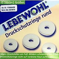 LEBEWOHL Druckschutzringe rund, 10 St preisvergleich bei billige-tabletten.eu