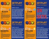 8 JETPLAY COMPATIBLE INK CARTRIDGES (2 Sets) FOR EPSON STYLUS S20, SX100, SX105, SX110, SX115, SX200, SX205, SX210, SX215, SX218, SX400, SX405, SX410, SX415, SX515W, SX600FW, SX610FW, BX300F, S21, SX110, SX115, SX215, SX410, SX415, SX515W, SX209, SX405 WiFi, D78, D92, D120, DX4000, DX4050, DX4400, DX4450, DX5000, DX5050, DX6000, DX6050, DX7450. DX8450, DX7000F, DX7400, DX8400, 2 x BLACK, 2 x CYAN, 2 x MAGENTA, 2 x YELLOW JETPLAY Replacements for T0711/T0712/T0713/T0714