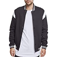 Urban Classics Inset College Sweat Jacket Giacca Sportiva Uomo