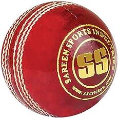 SS Yorker Leather Cricket Ball, Senior