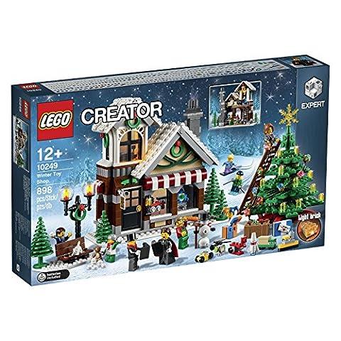Lego Creator - 10249-Le Magasin De Jouets D'hiver