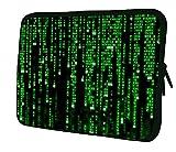 """Luxburg 14"""" pouces Housse Sacoche Pochette pour ordinateur portable / tablet - Matrix Code"""