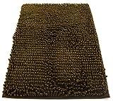 tapis d'entrée et de cuisine, poils longs de 2,5 cm, en microfibre, douche douce,...