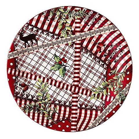 """Hutschenreuther 02468-725650-10862 """"Märchenwald"""" Porzellan-Teller flach, 22 cm"""