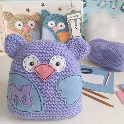 Little Owl Learn Knit Kit