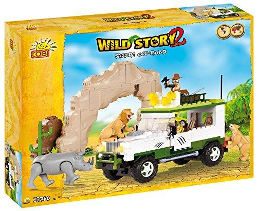 COBI Wild Story 2Safari Offroad Board Game