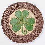bits y Piezas–Día de San Patricio trébol Piedra–Suerte de los irlandeses–Celtic Nudos Frontera