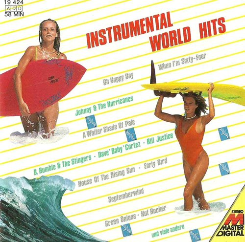 Super Melodies Instrumental incl. Green Onions (Compilation CD, 20 Tracks) (Green Stinger)