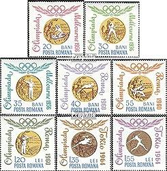Prophila Collection Rumänien 2345-2352 (kompl.Ausg.) 1964 Goldmedaillengewinner (Briefmarken für Sammler) Olympische Spiele