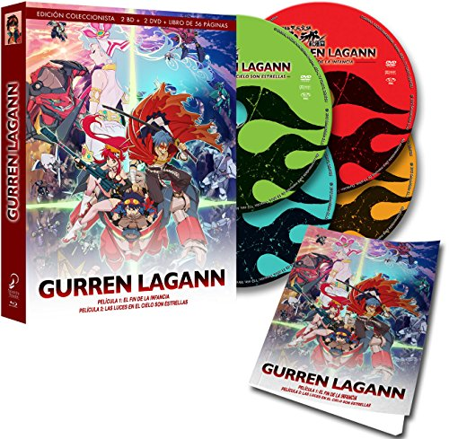 Gurren-Lagann - Edición Coleccionistas (2 DVD + 2 BD +...