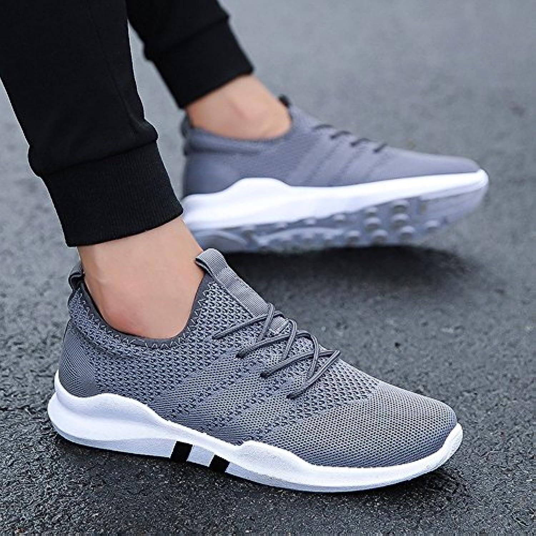 XIAOLIN- Zapatos de los hombres de microfibra sintética PU PU otoño invierno comodidad zapatos atléticos zapatillas  -