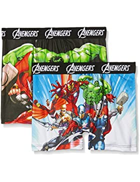 Marvel Boxer, Shorts para Niños (Pack de 2)