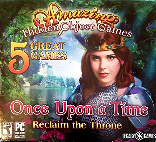 Amazing Hidden Object-Spiele, 5 Packungen: Once Upon a Time - Reclaim the Throne