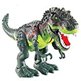 DeeXop Electronic Dinosaur Toys Walking Dinosaur with Flashing And Sounds For Kids