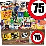 Ostpaket | 75 Geburtstag | Geschenk Box Oma | Spezialitäten Korb