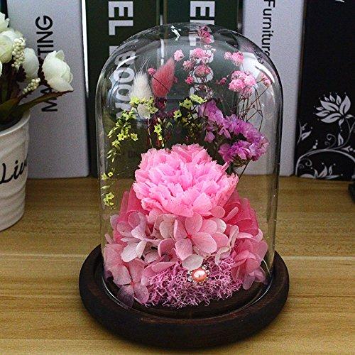 hoom-fleur-oeillet-rose-eternelle-bijoux-fete-des-meres-anniversaire-saint-valentin-cadeaupink-carna