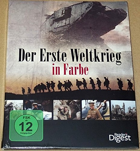 Der Erste Weltkrieg in Farbe - Das fesselnde Porträt eines der schicksalhaftesten Konflikte der Weltgeschichte! (3 DVDs / Reader's Digest)
