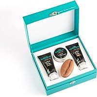 mCaffeine Strong Brew - Espresso Gift Kit | Energizes, Deeply Exfoliates & Hydrates the Skin | Face Wash, Face Scrub…