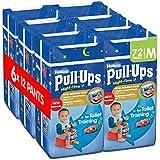 Huggies Pull-Ups Boys Night Time Pants Convenience Pack, Medium - 6 Packs (12 Pants Per Pack, 72 Pants Total)
