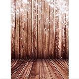 SAILUN® 1,5 x 2,1 m Retro Holzboden Hintergründe für Fotostudio Hintergrundsystem Holzfussboden Hintergrundstoff