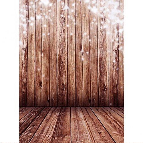 SAILUN® 1,5 x 2,1 m Retro Holzboden Hintergründe für Fotostudio Hintergrundsystem Holzfussboden (Tragen Anzug Realistische)