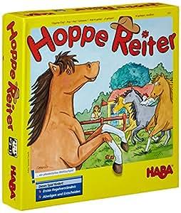 """Haba 4321 - """"Al galoppo, cavallino!"""", Gioco in scatola [importato dalla Germania]"""