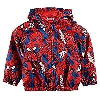 Spiderman Marvel Lightweight Rain Coat Pac A Mac Pacamac Raincoat Kagool Cagoule Childrens Childs Kids Boys