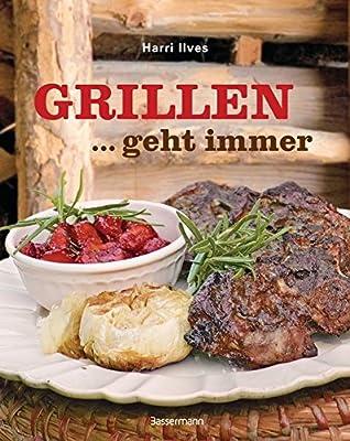 AV Andrea Verlag Grillen geht Immer zu jeder Jahreszeit Grillbuch Männegeschenk Geschenke für Männer im Geschenkeset Set mit Jack Daniels BBQ Sauce