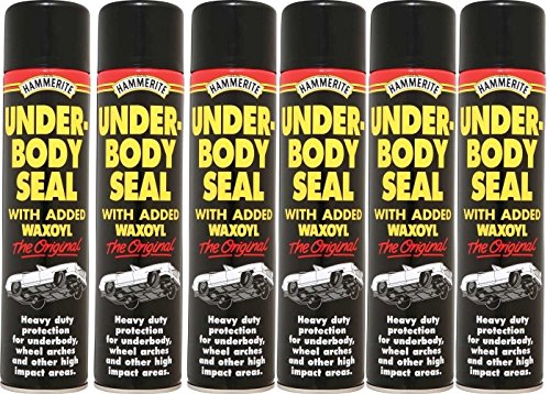 6-x-black-underbody-seal-aerosol-with-waxoyl-600ml-hammerite-protection