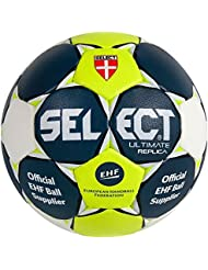 Select, pelota de balonmano Ultimate Replica, blau/gelb/weiss