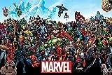 POSTER STOP ONLINE Marvel Comics Universe-Comic Poster/Impression (Tous Les Personnages de Marvel) (Taille: 91,4x 61cm) (par Poster Stop en Ligne) Unframed sans Cadre