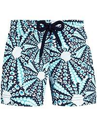 VILEBREQUIN - Pantalón Corto con Estampado Oursinade