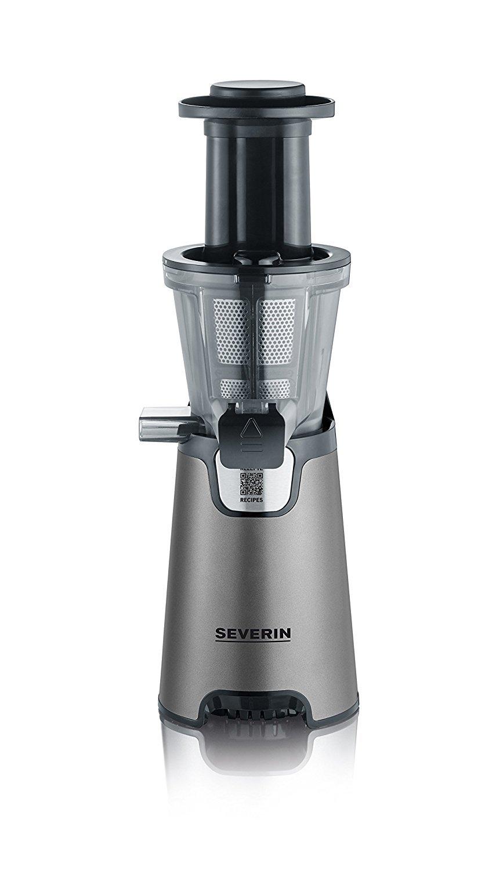 Severin ES 3571 Slow Juicer Estrattore di Succo Senza Lame, 150 W, Acciaio Inox (Ricondizionato) - 2020 -