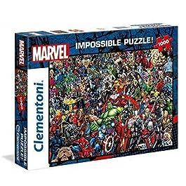 Clementoni Marvel Impossible Puzzle, Colore Neutro, 1000 Pezzi, 39411