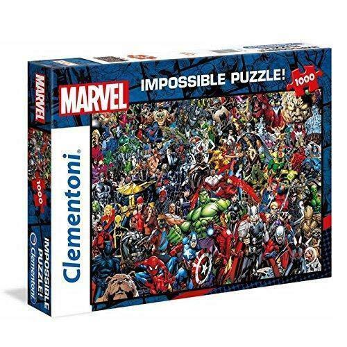 """Clementoni 39411\"""" Marvel Universe-Impossible Puzzle, 1000 Teile"""